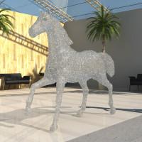 Dubai Racing Club 3d vizualizace kůň 2