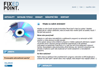 Fixed Point  webdesign, logo, webová prezentace 1