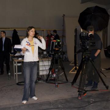 Natáčení a klíčování video poradců do multimediální prezentace