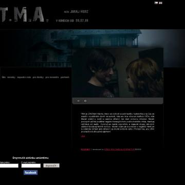 Spuštěn web T.M.A.
