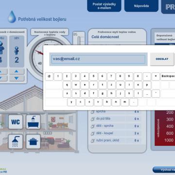 Výpočtové flashové aplikace pro Centrum energetické poradenství PRE 6