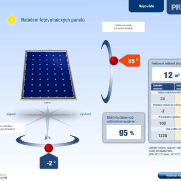Výpočtové flashové aplikace pro Centrum energetické poradenství PRE 17