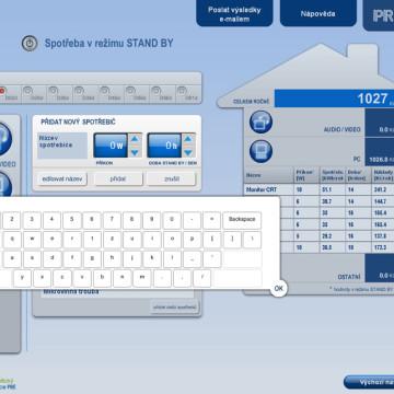 Výpočtové flashové aplikace pro Centrum energetické poradenství PRE 13