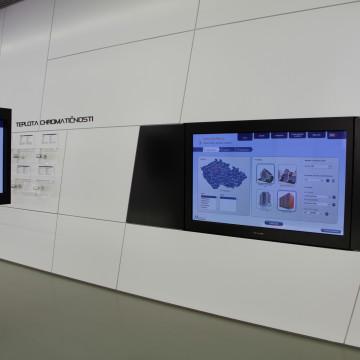 Pražská energetika - multimediální prezentace 1