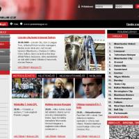 Premier League nový červený design 1