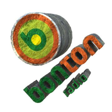 Bonton rádio - 3d logo 1