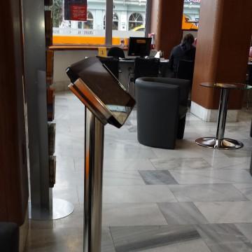 Informační kiosky Student Agency - tablet kiosek Praha