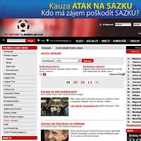 Kampaň SAZKA na portále Premier League.cz