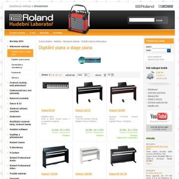 Hudebnilaborator.cz internetový obchod kategorie výpis