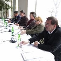 Tisková konference Ceny Thálie 2009