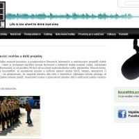 Sound4film.cz - nová webová prezentace 1