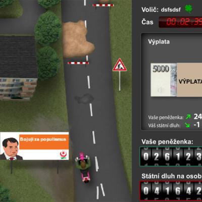 Flash hra o státní dluh na tvojevolba.cz 3