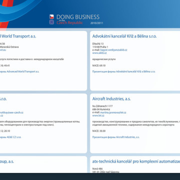 Multimediální CD Doing Business 2010/2011 7