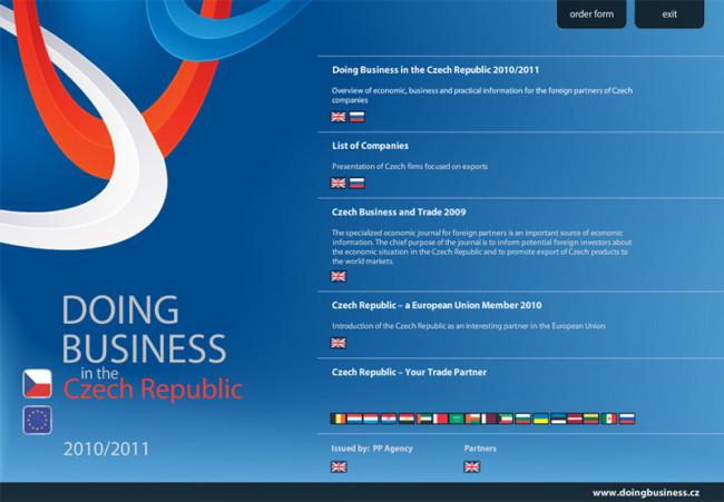 Multimediální CD Doing Business 2010/2011 2