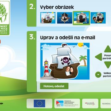 Interaktivní prezentace - Infobox Rosnička 9