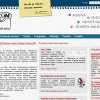 Herecká asociace - webové stránky 1