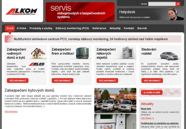 Alkom.cz - webdesign 1