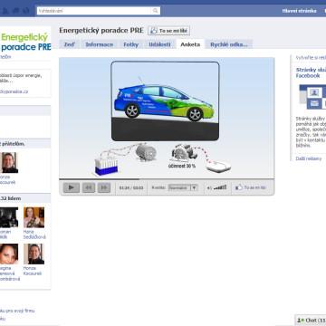Komunikace PRE na sociální síti facebook
