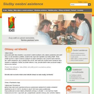 Mikro web pecovatel_cz_ohlasy-od-klientu
