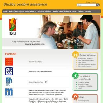 Mikro web pecovatel_cz_partneri