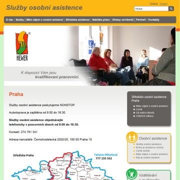 Mikro web pecovatel_cz_strediska-asistence_praha