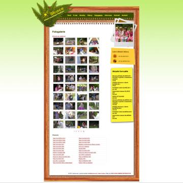 Webová prezentace dětské organizace SLUNCE Ondřejov