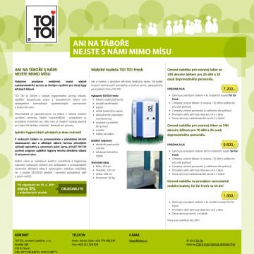 TOI TOI, sanitární systémy, s.r.o.