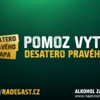 Reklama Radegast Desatero pravého chlapa