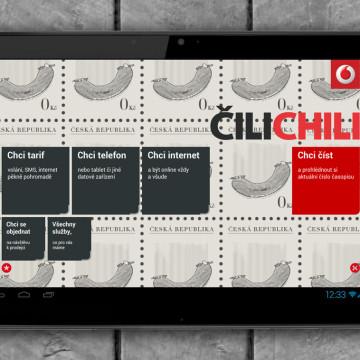 Prodejní aplikace Vodafone