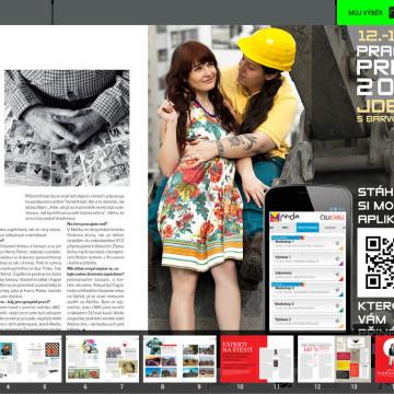 Prodejní aplikace Vodafone - elektronická verze magazínu ČiliChili