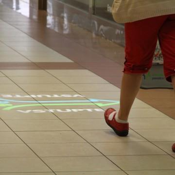 Interaktivní podlahová projekce CEP PRE