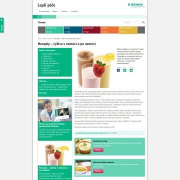 Webová prezentace Lepší péče