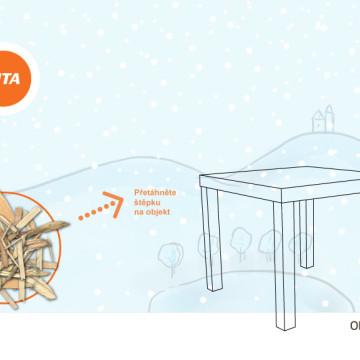 Interaktivní novoroční přání SITA CZ - fáze 6