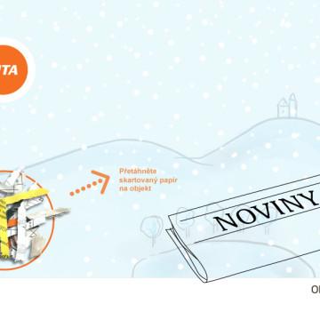 Interaktivní novoroční přání SITA CZ - fáze 8