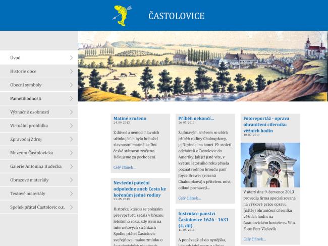 Multimediální kiosek a software pro městys Častolovice 6