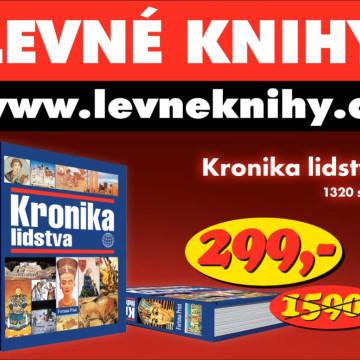 Televizní reklama Levné knihy kronika