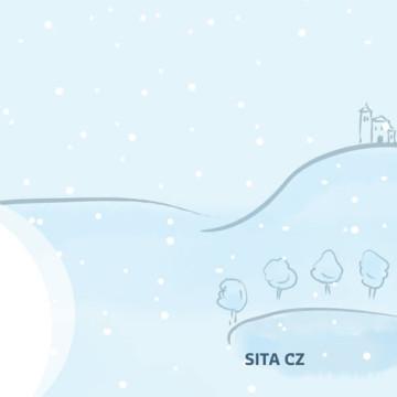 Tisková novoročenka SITA 2014 - vnitřní dvoustrana