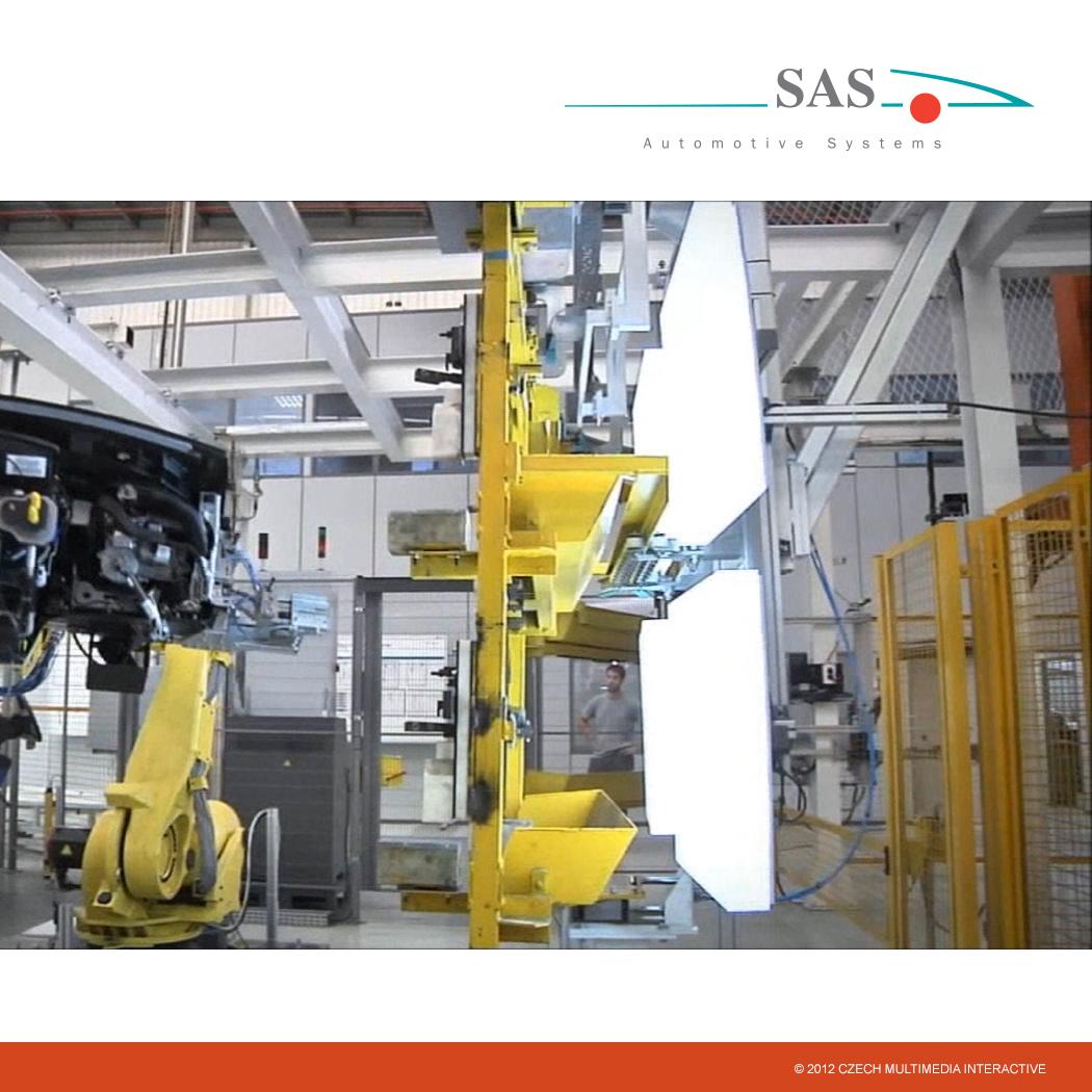 Kiosek a software SAS Automotive 1
