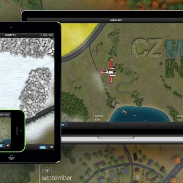 INTERAKTIVNÍ NOVOROČNÍ PŘÁNÍ CZMI 2013 - přání lze zobrazit na široké škále zařízení od telefonu až po velký monitor.