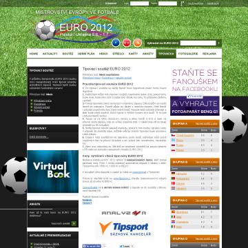 Web EURO 2012.cz - mistrovství ve fotbale 3