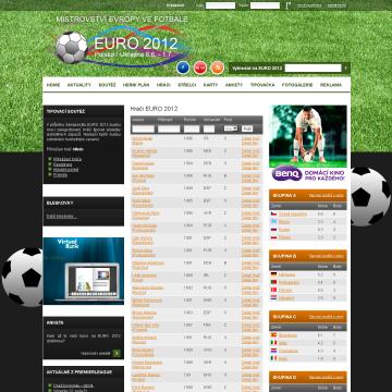 Web EURO 2012.cz - mistrovství ve fotbale 4