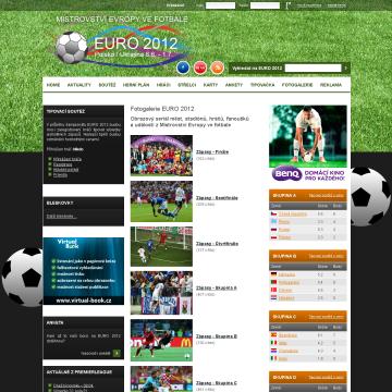 Web EURO 2012.cz - mistrovství ve fotbale 5