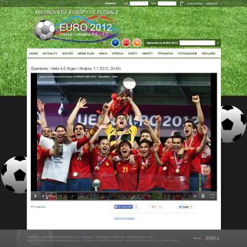 Web EURO 2012.cz - mistrovství ve fotbale 6