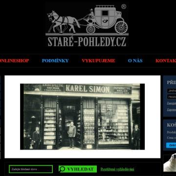 Internetový obchod Staré-pohledy.cz