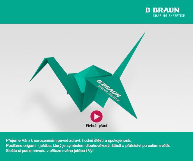 Elektronické narozeninové přání pro B  Braun - CZECH MULTIMEDIA