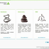 Produktová microsite Dimension Data