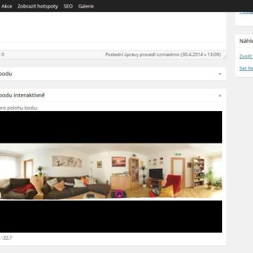 Obejvák - snadné vizuální přidávání a editace hotspotů