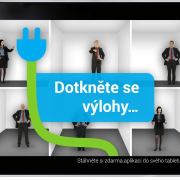 Koncept interaktivní výlohy CEP PRE - živý poradci