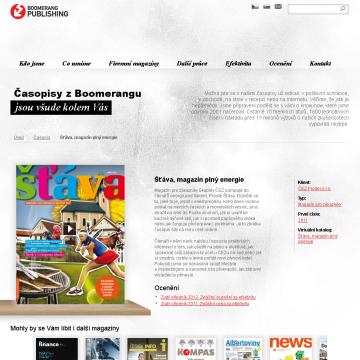 www prezentace Boomerang Publishing