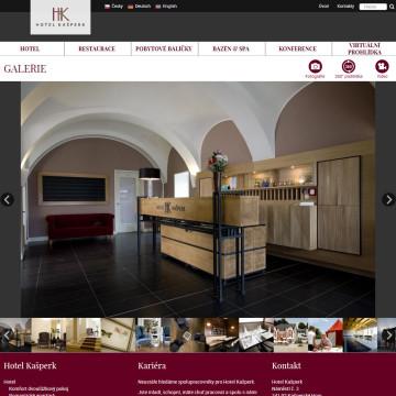 Hotel Kašperk - fotogalerie, přizpůsobená pro ovládání na dotykových zařízeních